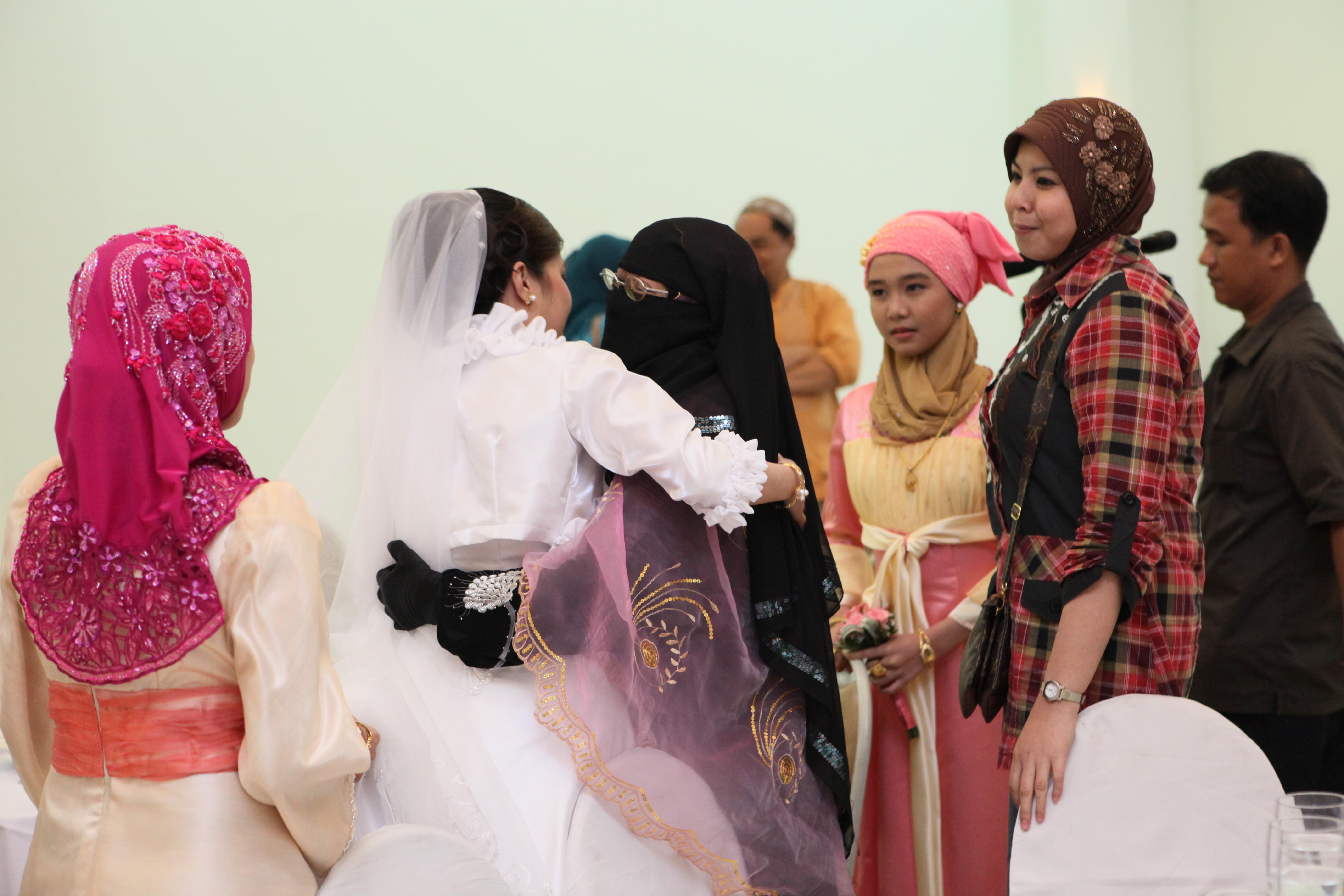 Nikah is a Muslim marriage ceremony 54